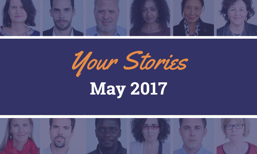 Your stories, May 2017