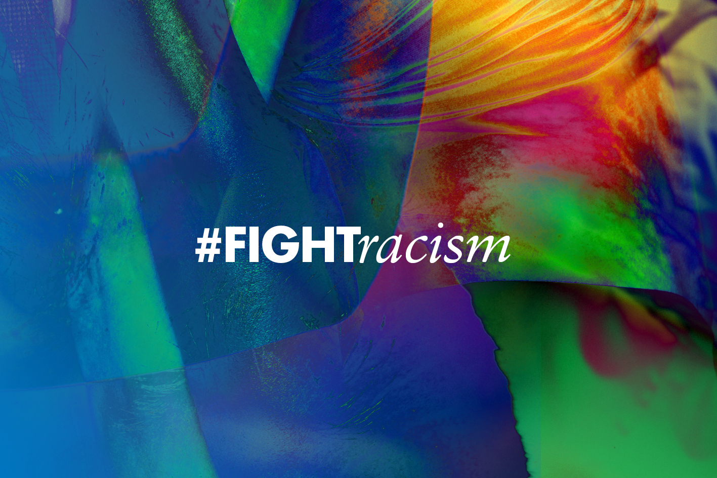 hashtag #fightracism