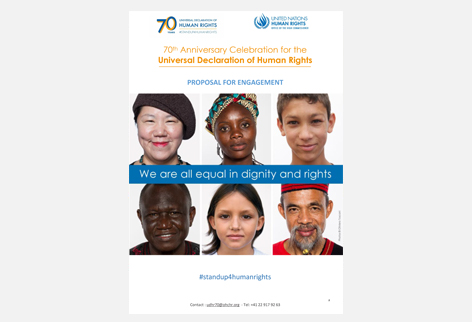 Campaign Materials Stand Up For Human Rights Un Human Rights Office