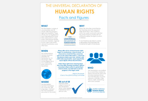 UDHR Facts and Figures