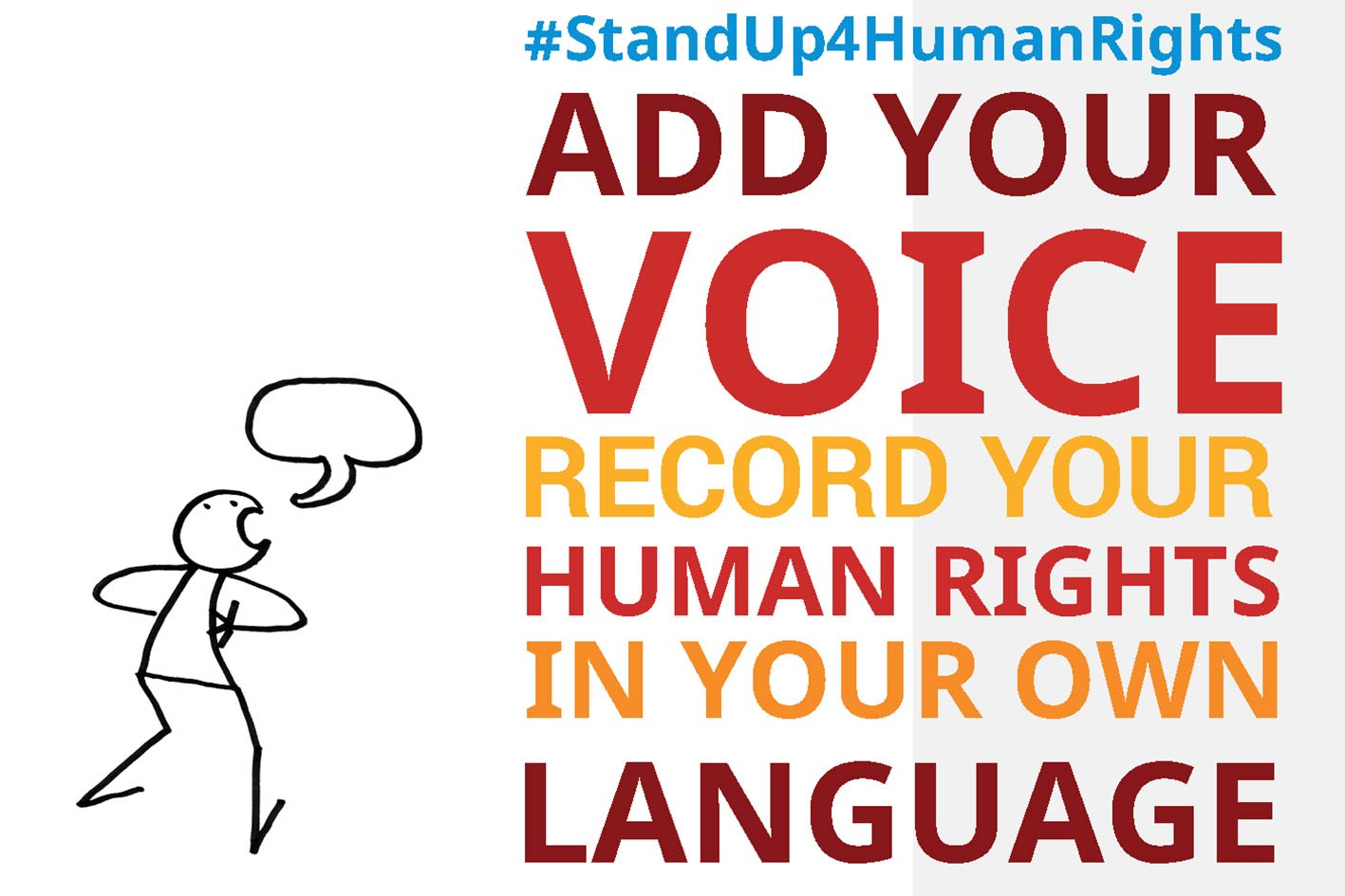 Add your voice! © United Nations