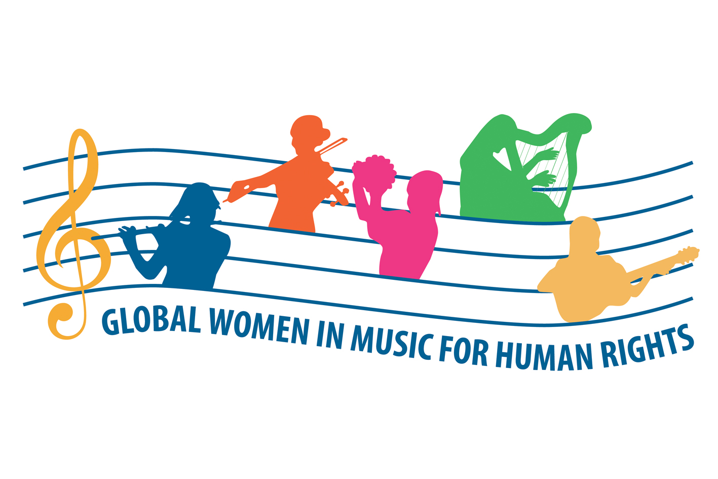 Global Women in Music for Human Rights logo