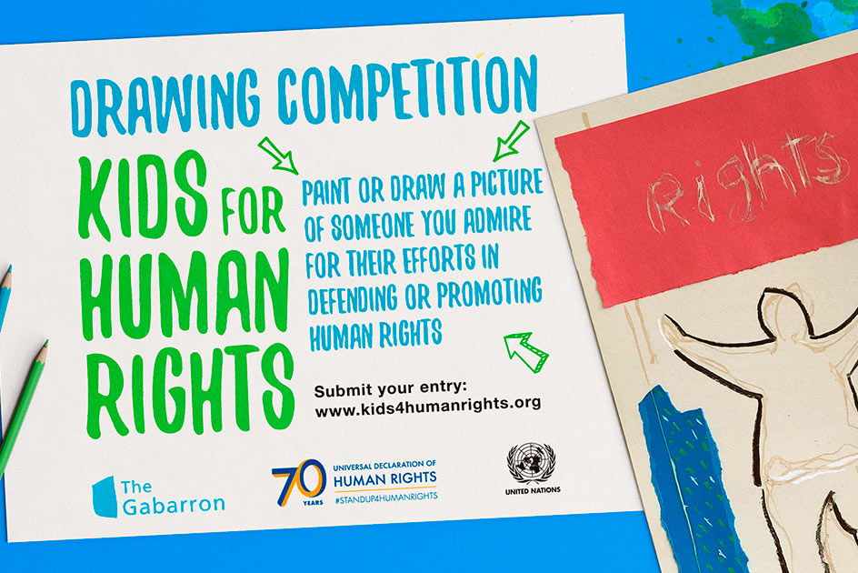 Drawing Competition - Kids for Human Rights